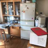 丹波市の遺品整理(ゴミ屋敷片付け撤去と清掃、掃除)